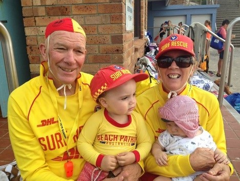 Graham Ford AM Inducted in Surf Life Saving Hall of Fame